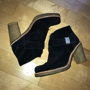 GUC ugg sheepskin heels